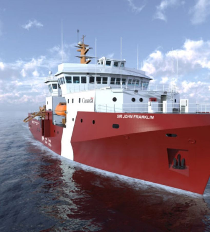 Canadian Coast Guard Offshore Fisheries Science Vessel (OFSV)
